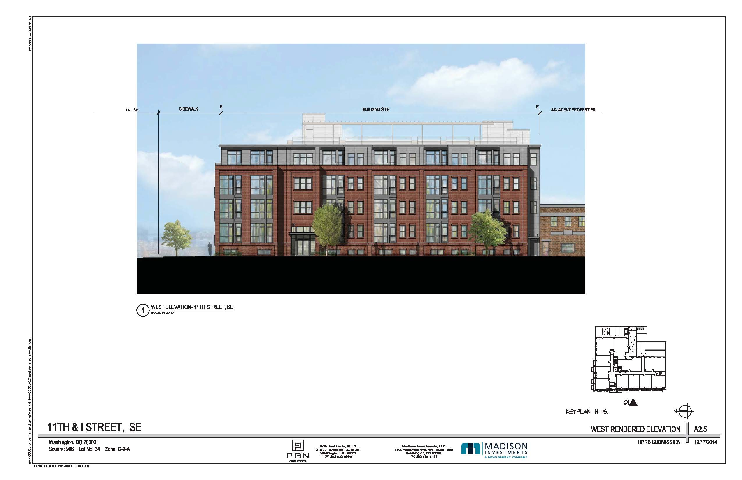 Planned Condo Building For 11th I Streets SE